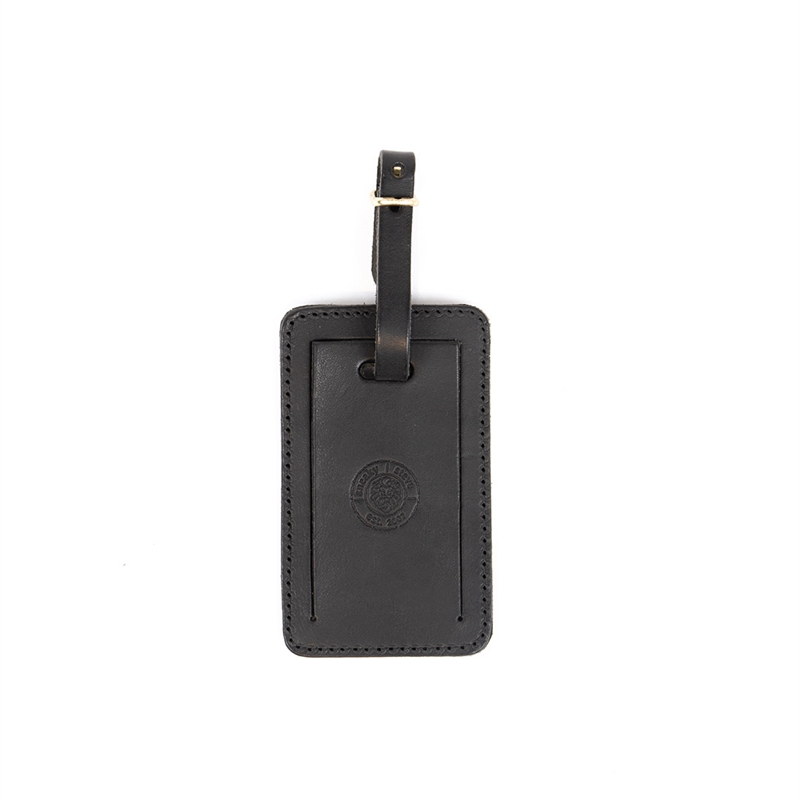 Luggage-tag-Sasso-black-front