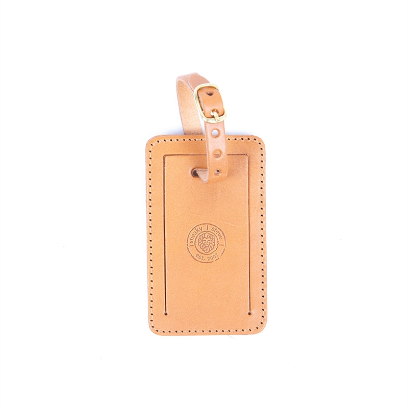 Luggage-tag-Sasso-brown-front