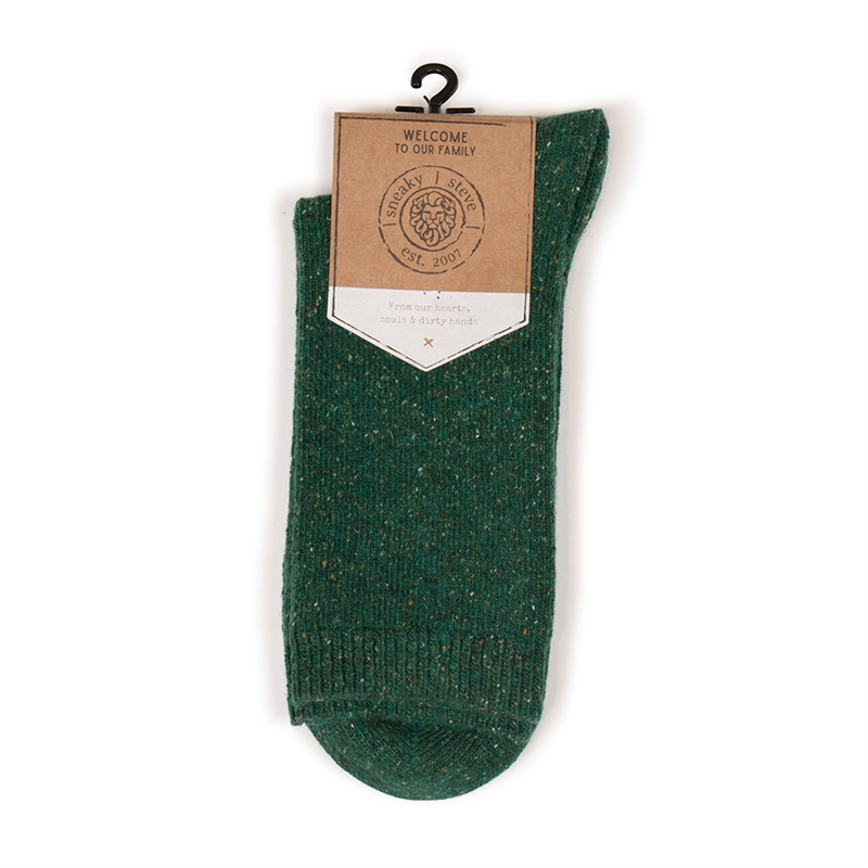 Neps Green winter socks to keep you warm
