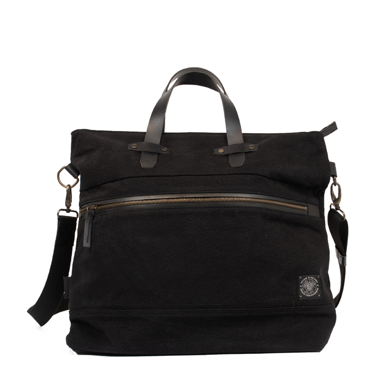 Paris-weekend-bag-black-front