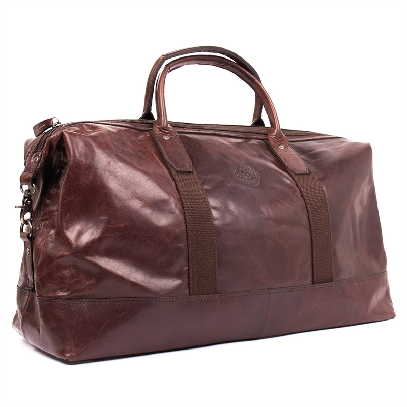 Torun-weekend-bag-leather-brown-detail