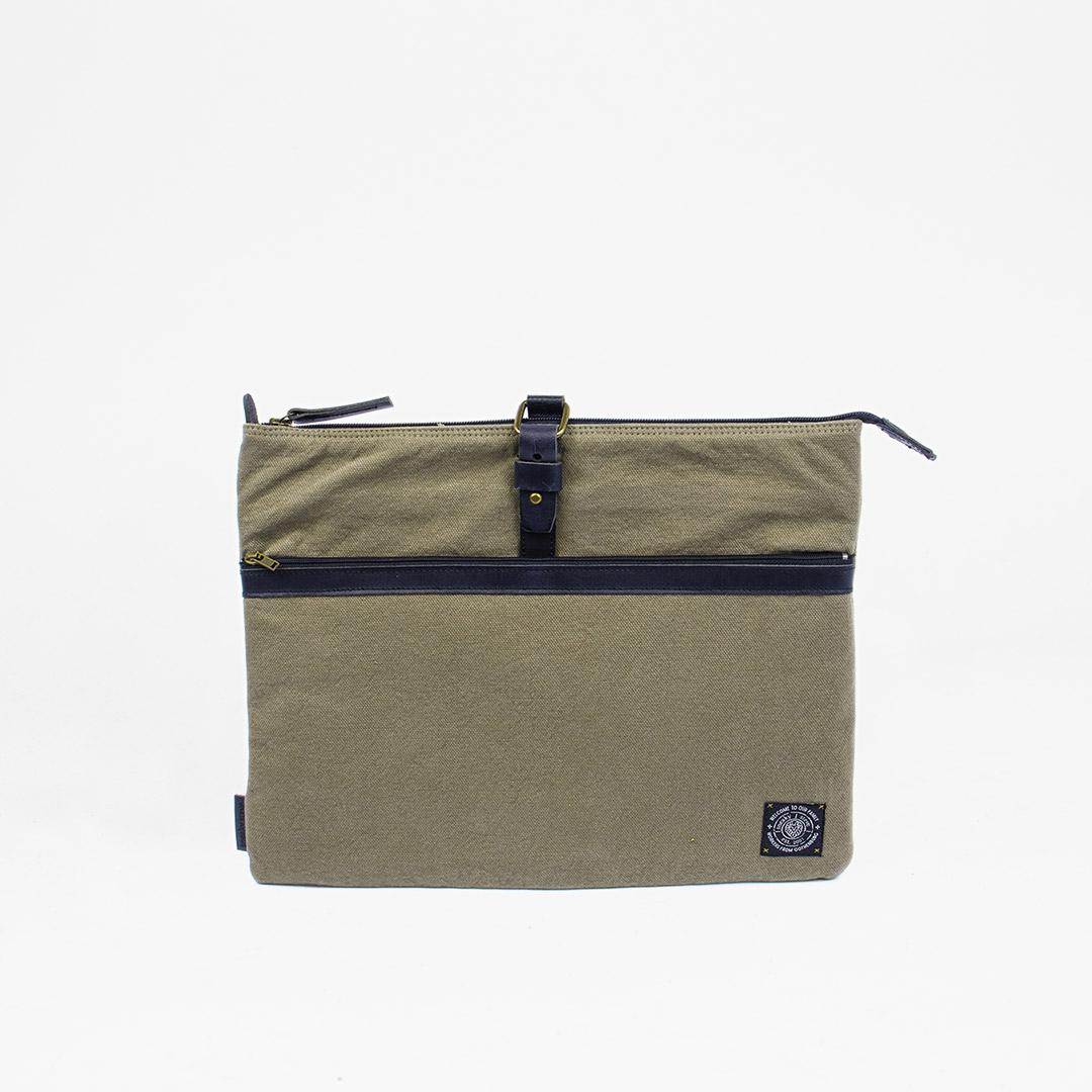 Edward Laptop Case Khaki