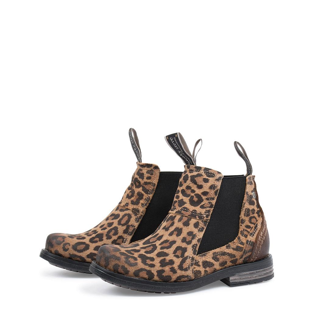 Style: Lance Kids Beige Leopard | Size 24-29