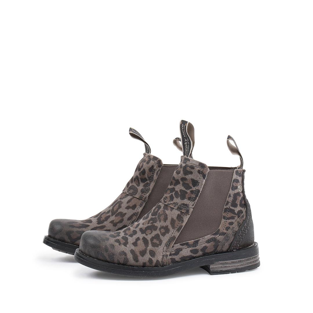 Style: Lance Kids Grey Leopard | Size 24-29