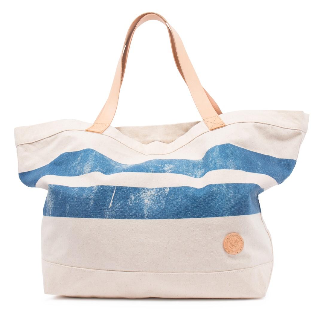 Style: Caden Beach Bag Off White