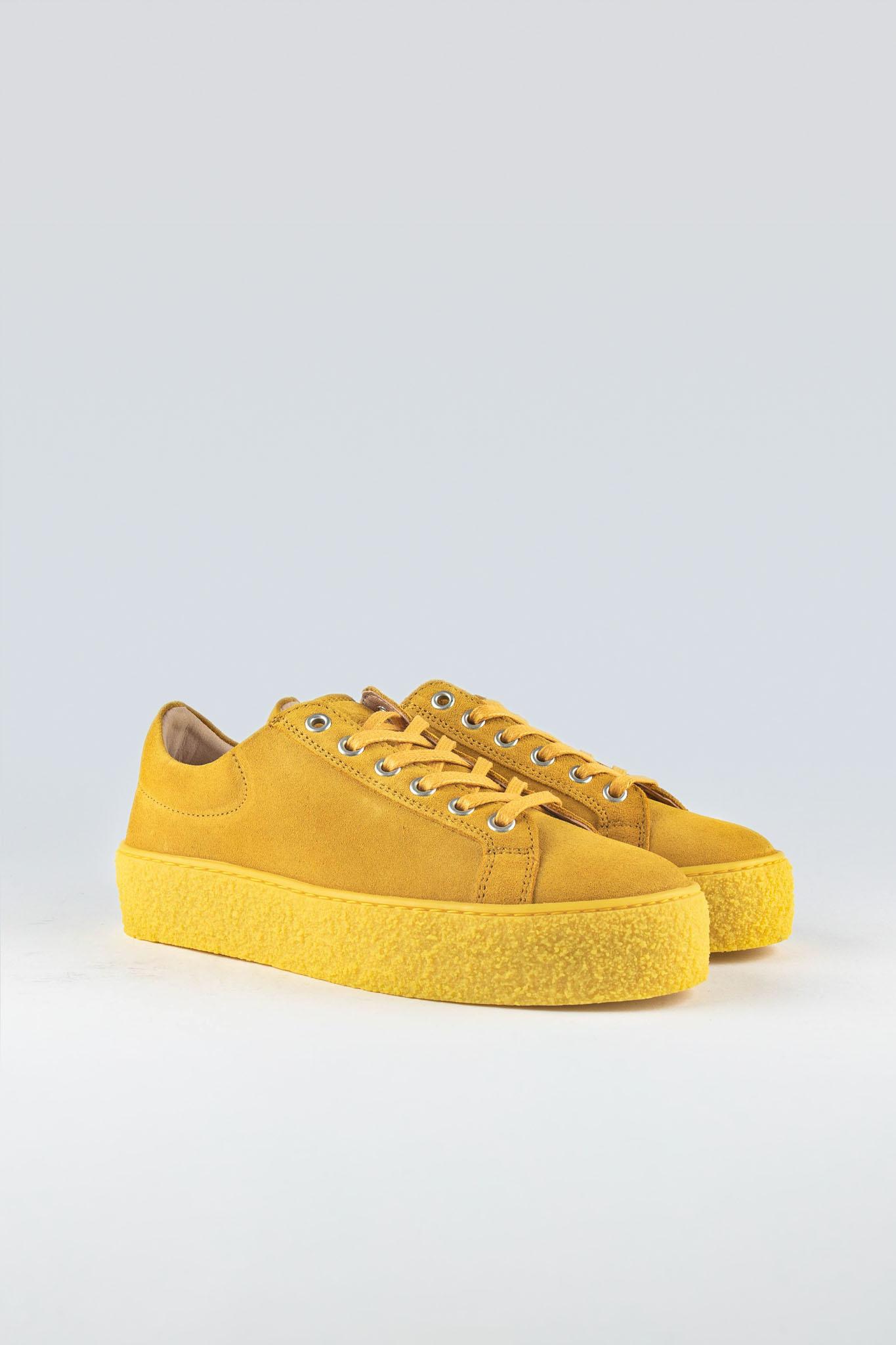 Sidder W Yellow Suede