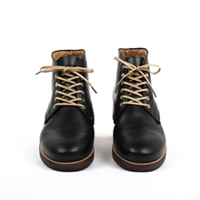 Banished-worker-boot-leather-black-front