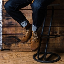 Crasher-suede-boot-whiskey-image-3
