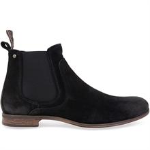 Sneaky Steve Mens Cumberland Black Suede Boots 42 EU ikFpx0PB
