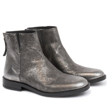 Dazzel-boots-leather-zipper-silver-pair