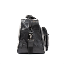 Joar-weekend-bag-leather-black-side