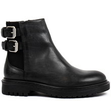 Least-boots-buckles-chelsea-leather-black-side