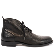 Repose-croco-leather-boots-black-side